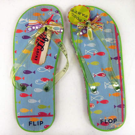 Fun Freaking Fabulous Flip Flop Invitations Cosmo Cricket – Flip Flop Party Invitations