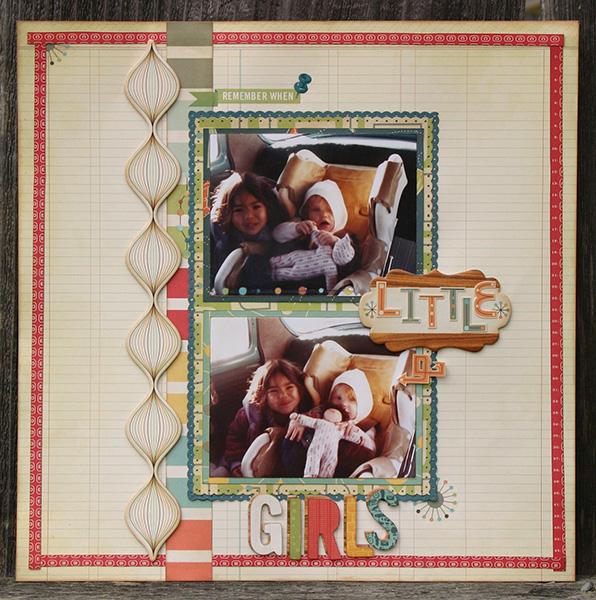 Amy Parker CC DT 09 New CHA Little Girls