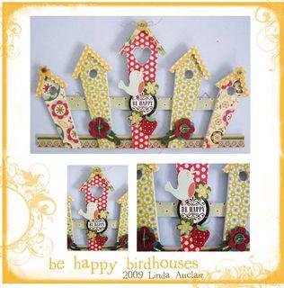 Be happy birdhouses presentation sized