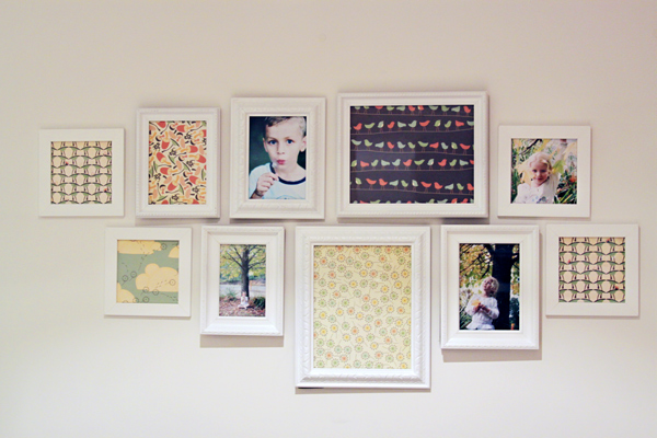 Wonderful Wall Decor with Picture Frames 600 x 400 · 143 kB · jpeg