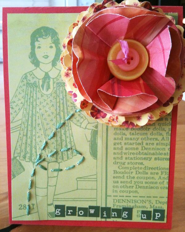 Material girl card