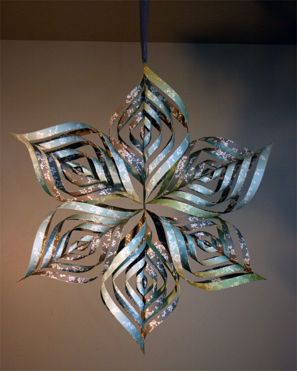 Flashback Friday: 3D Snowflake Tutorial
