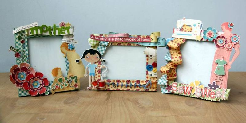 Mother\'s Day Picture Frames - Cosmo Cricket