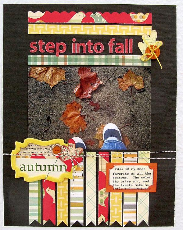 Step into Fall