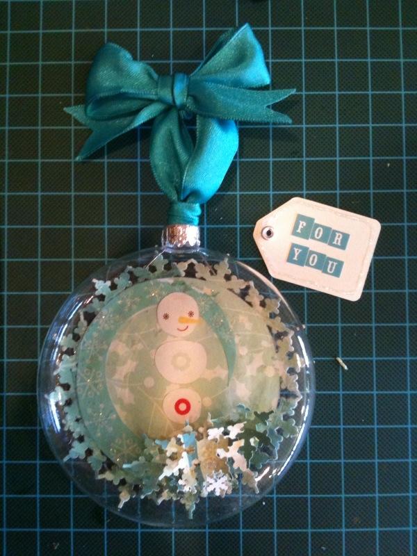 Glass ornament