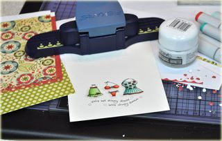 cosmo cricket card making
