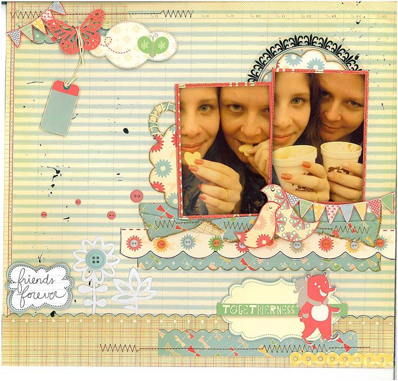 Janete Stella 2 Memory Girls Scrap Memory