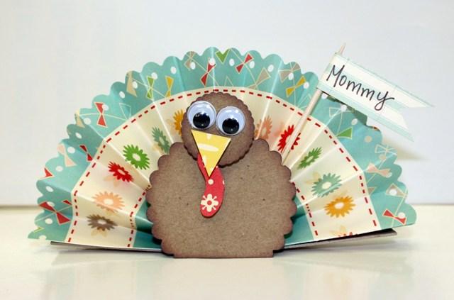 Turkey card Frances Sylvia