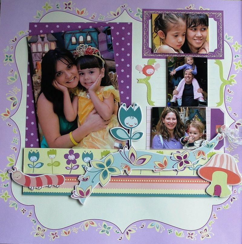 Angelica 2 Memory Girls Scrap Memory