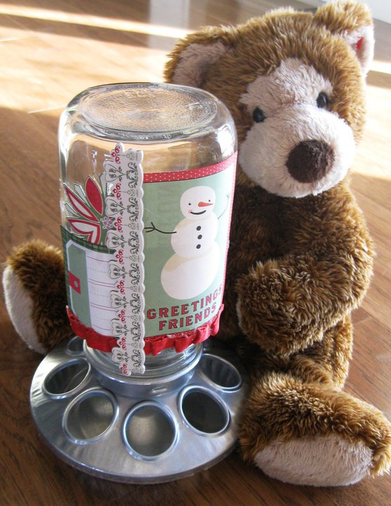 Christmas Craft Candy Dispenser