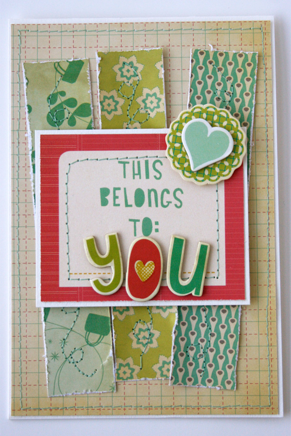 Upcycle_handmade_card