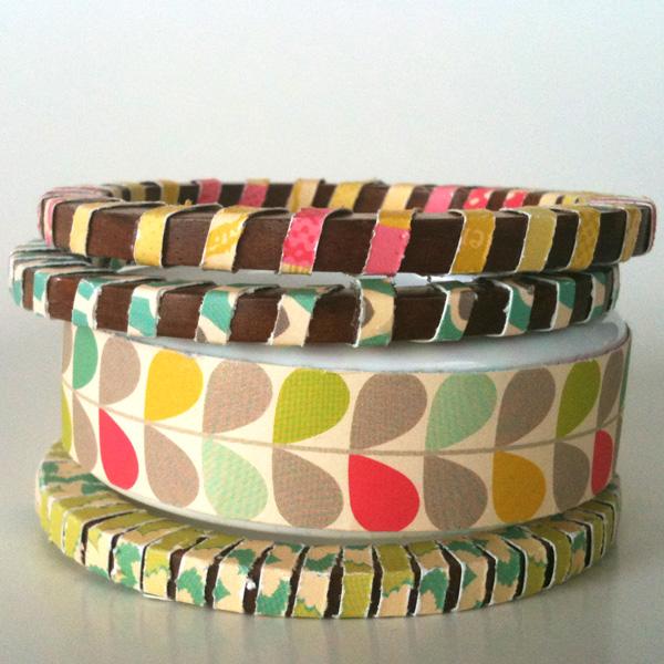 Paper Jewerly Bangle Bracelets Up Cycle
