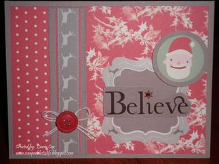 Cox- Believe Christmas Card