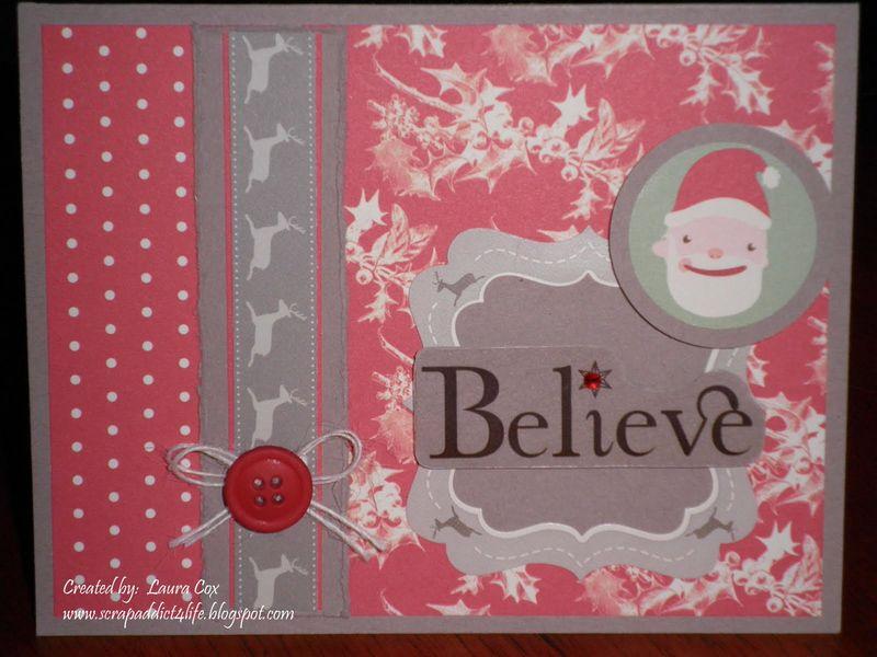 Cox- Believe Christmas Card