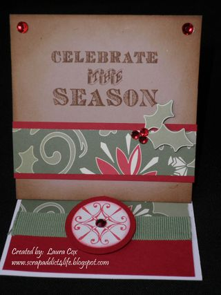 Cox-Celebrate the Season Easel Card