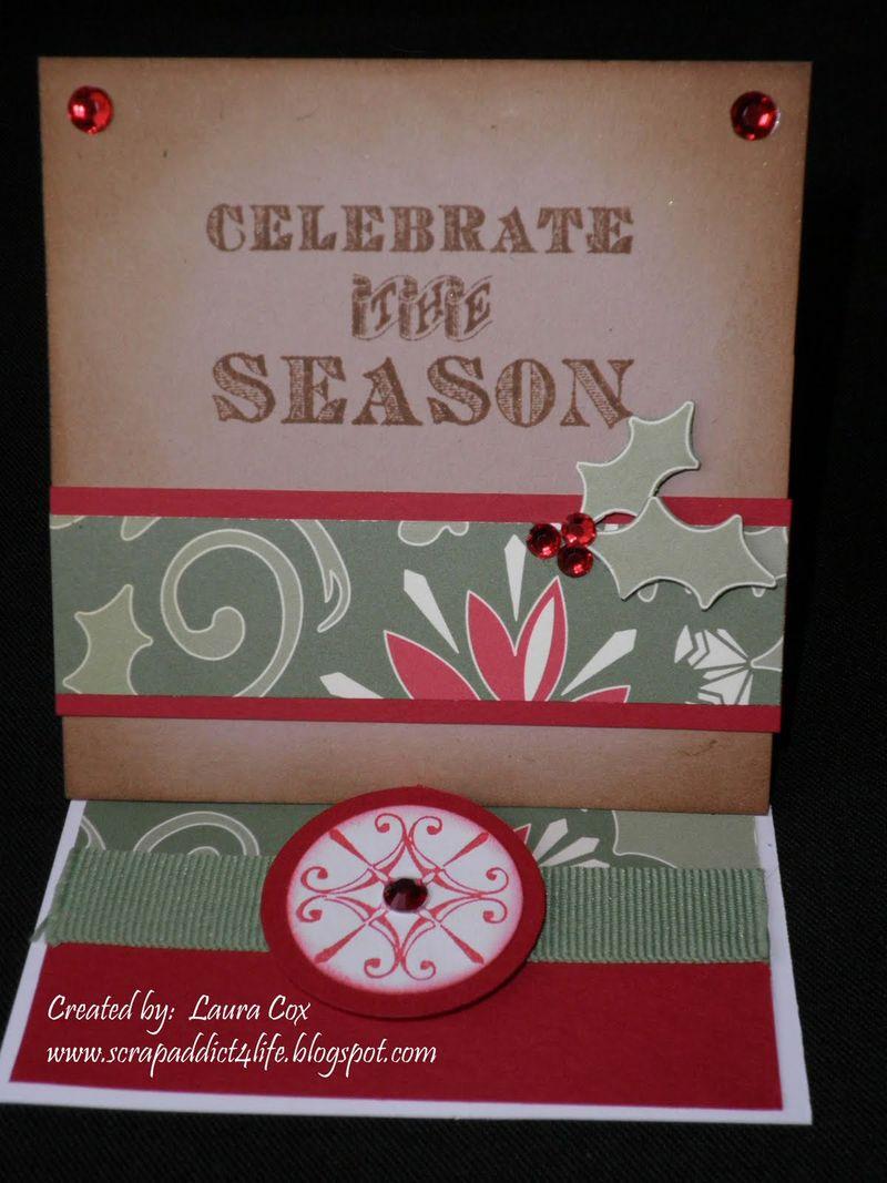 Cox-Celebrate the Season Easel Card