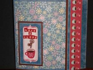 Front Cover Cocoa Gift Folder