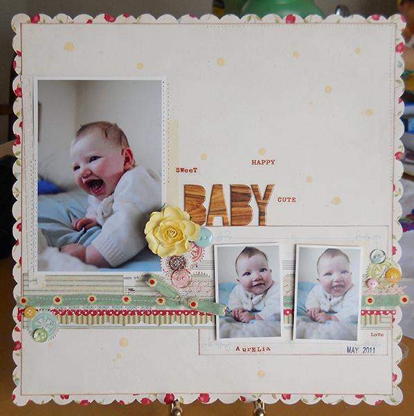 Amy Parker Cosmo Cricket Recipe Challenge Baby