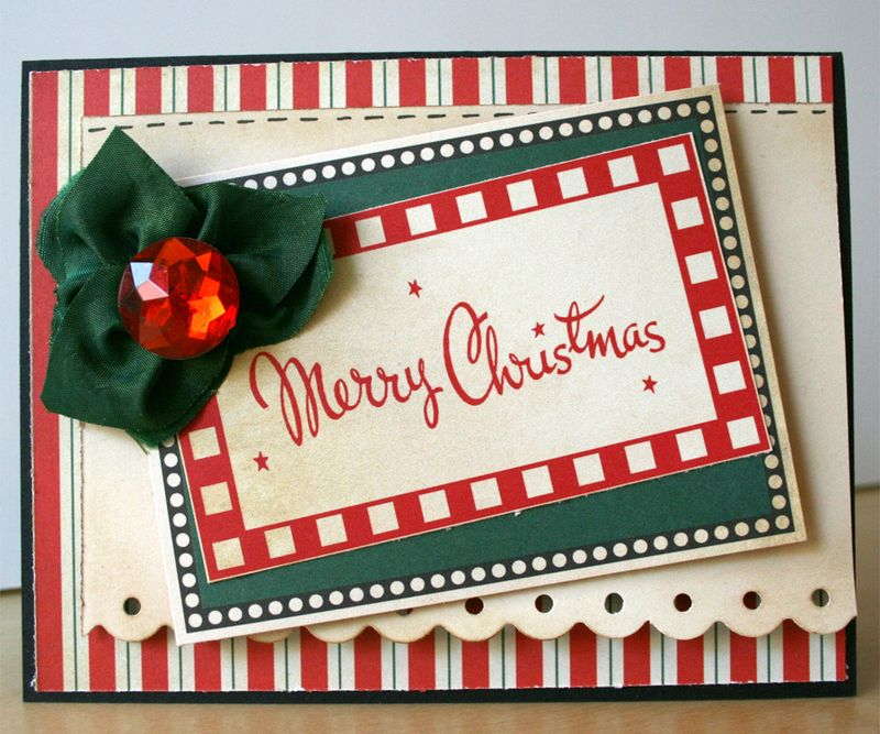 Christmas Card_handmade_papercrafting_card making