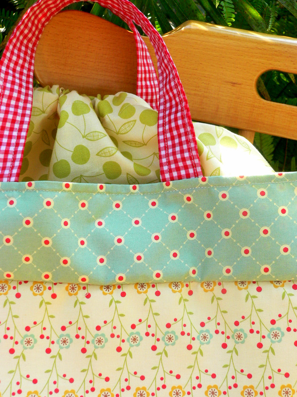 Farmer's market bag_cosmo cricket_fabric_lined