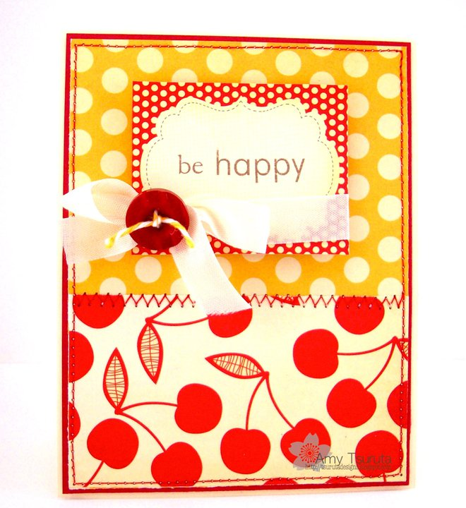 Early bird card Amy tsurutu