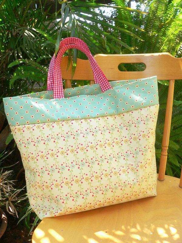 Farmer's market bag_cosmo cricket_fabric