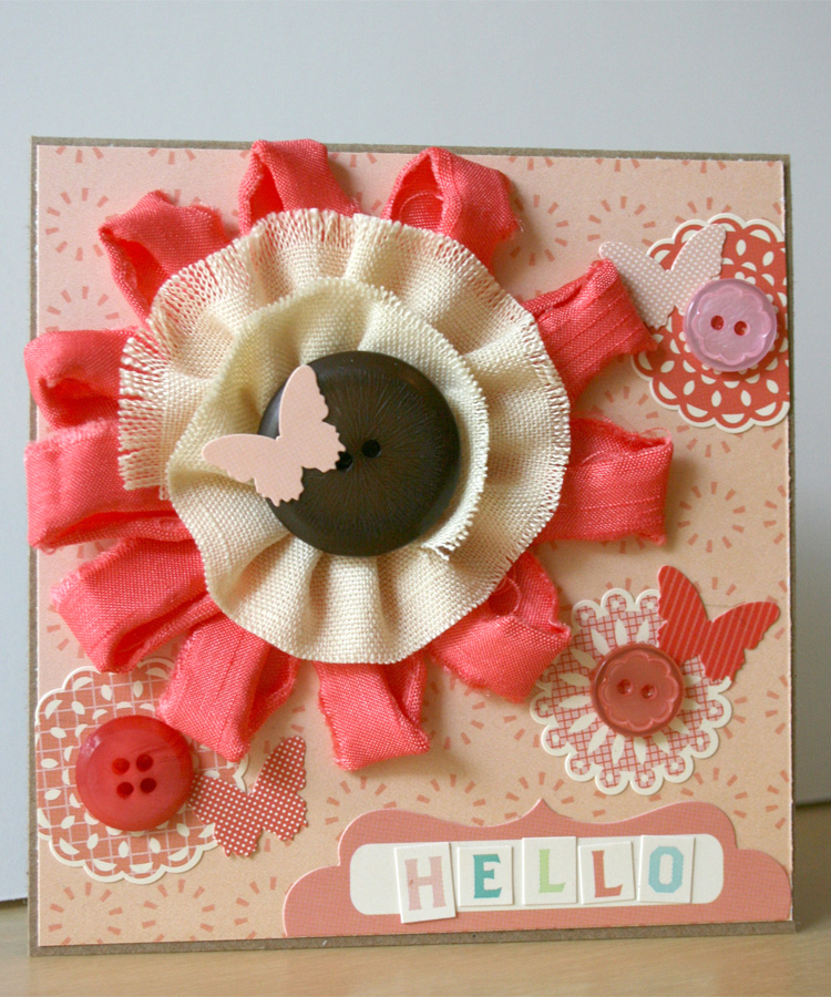 Clementine_card_fabric_flower_gluber_cosmo cricket_julie comstock