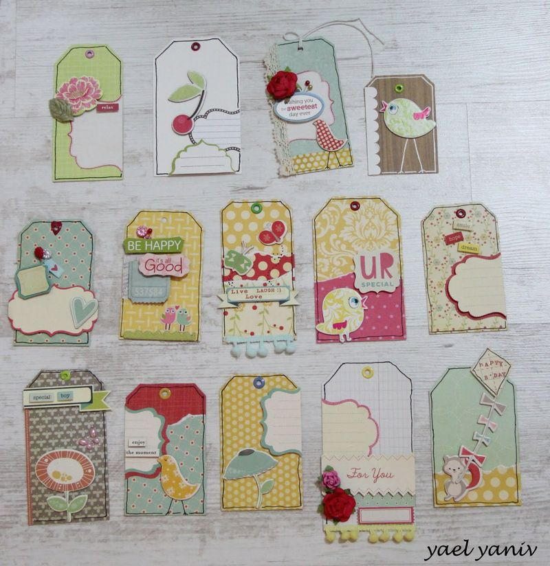 Paper craft_tags_cosmo cricket_friends