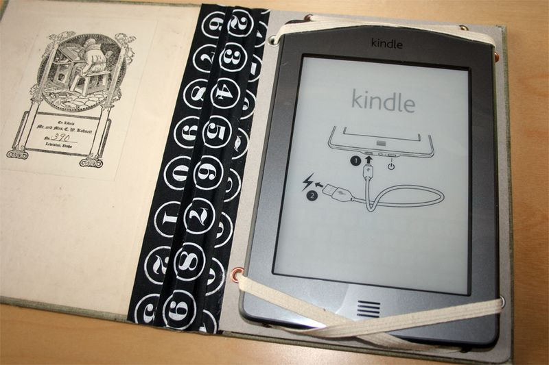 Make a kindle cover tutorial