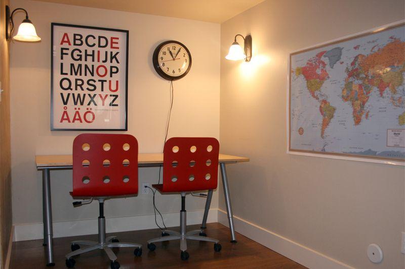 Learning center for children