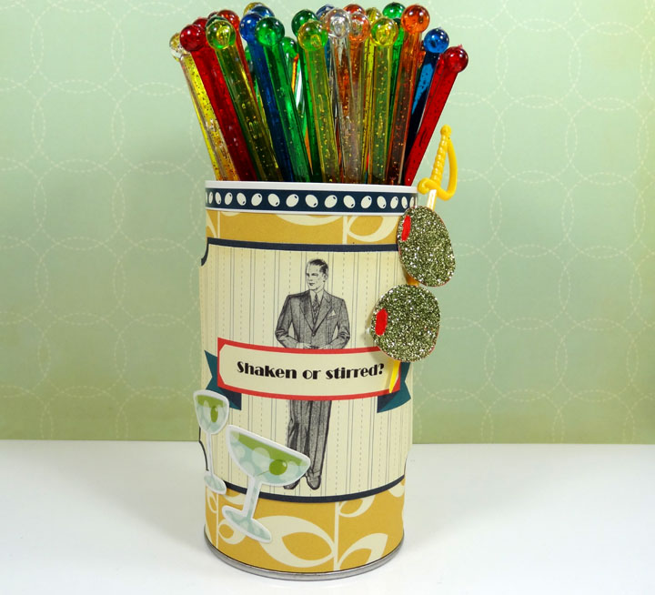 Paper Art Tin