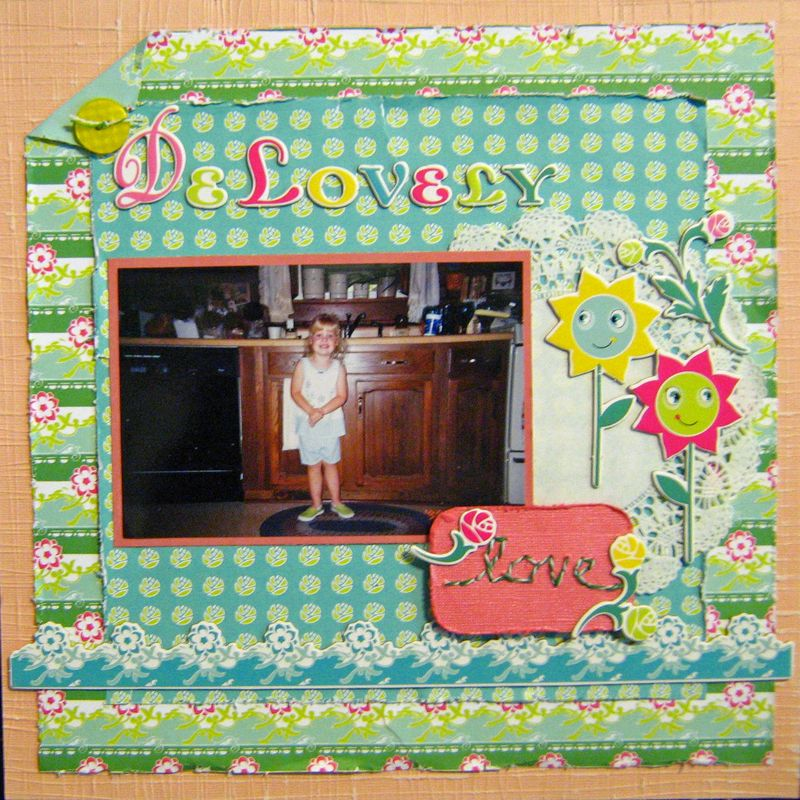 DeLovely Layout cosmo cricket