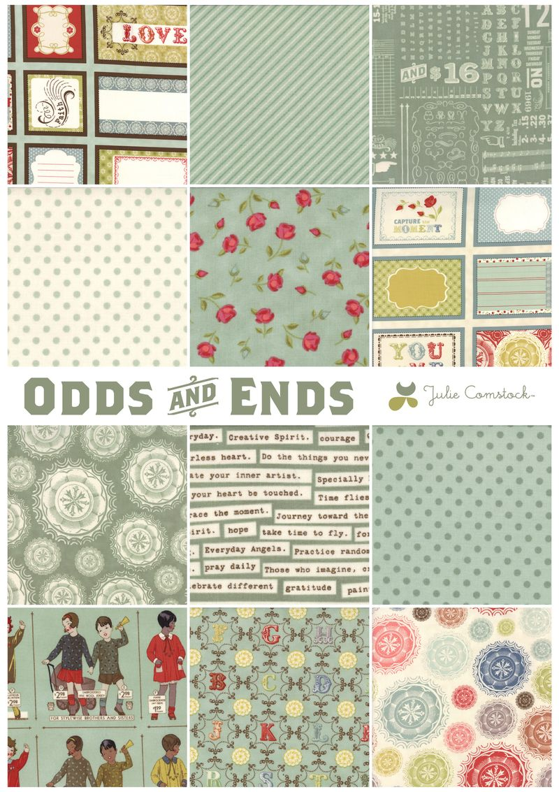 Odds and ends fabric_cosmo cricket_julie comstock2