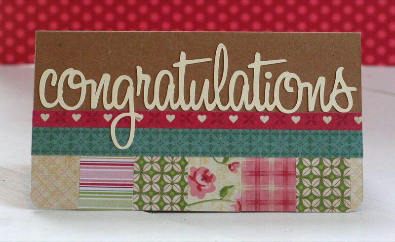 Congratulations card_tea for two_cosmo cricket