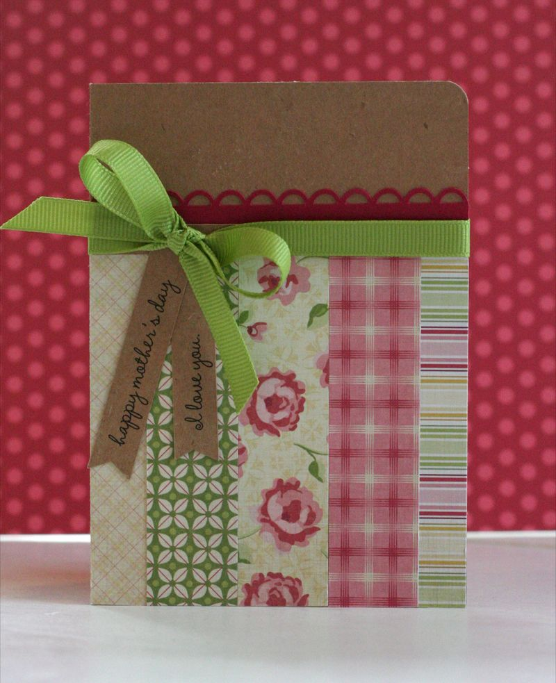 Tea for two card craft