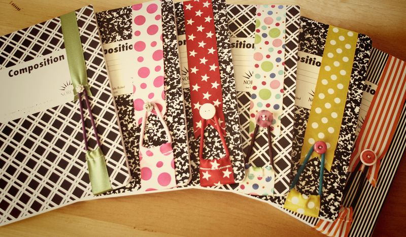 Ribbon bookmarks teacher gifts
