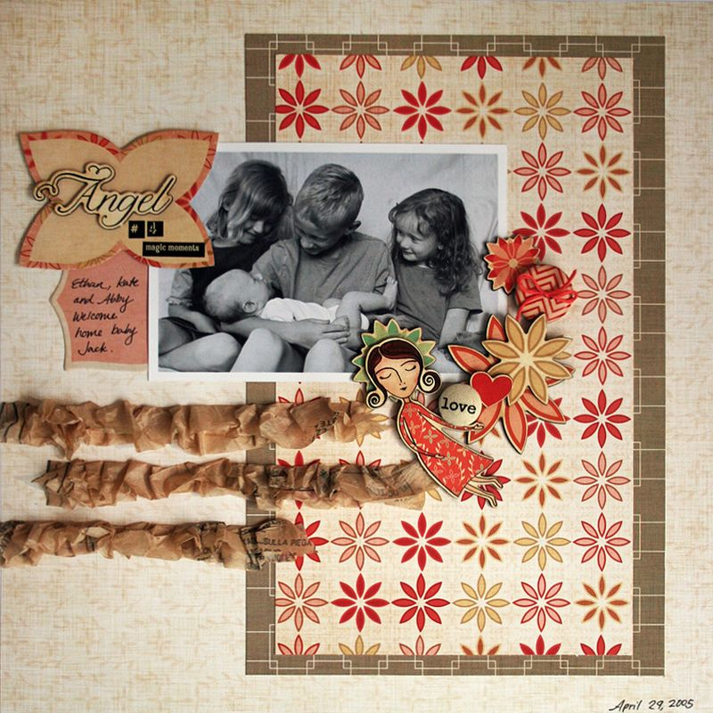 Art Angel_scrapbook layout_cosmo cricket_ chas12