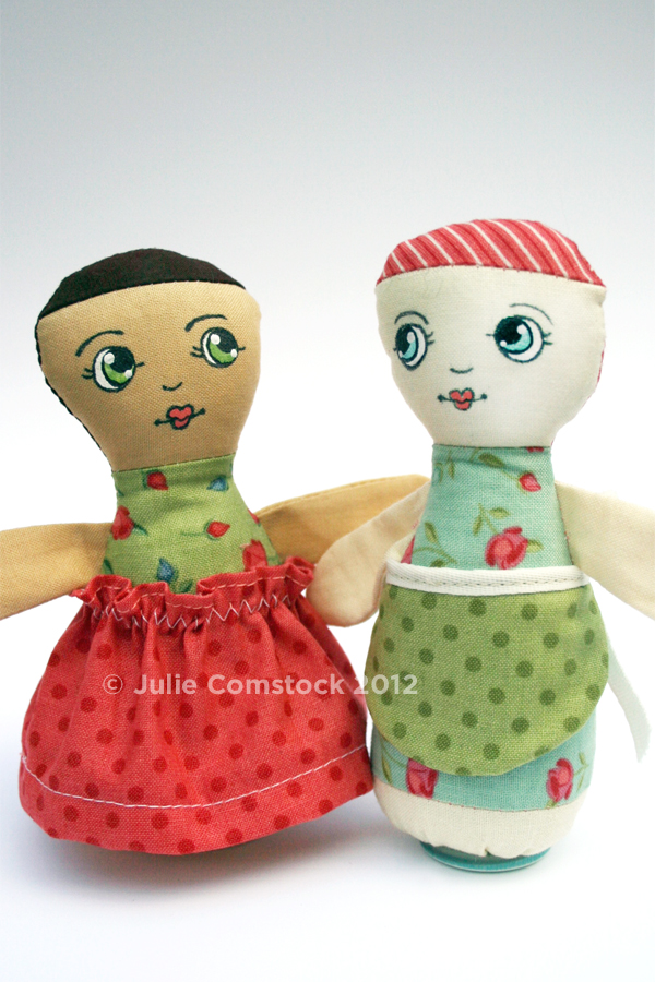 Lucille Dolls_Julie Comstock_Odds and Ends fabric