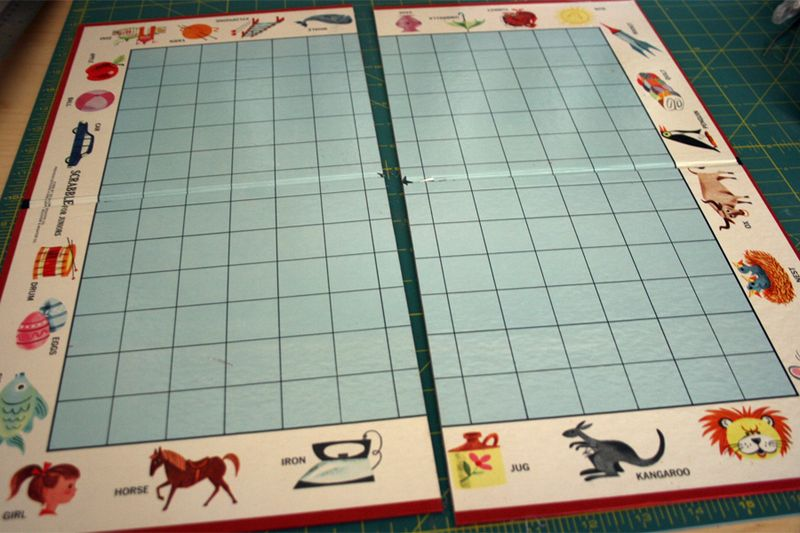 Game board Cut