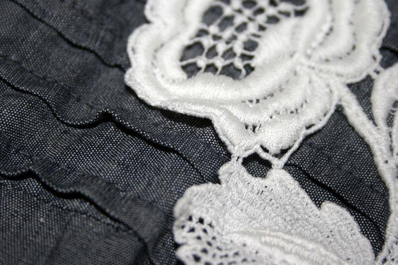 Vintage Dress Grey