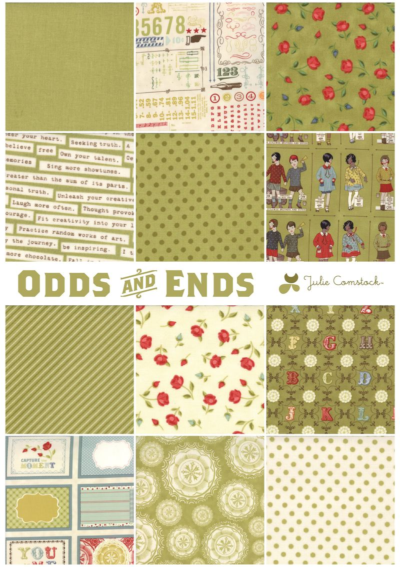 Odds and ends fabric_cosmo cricket_julie comstock