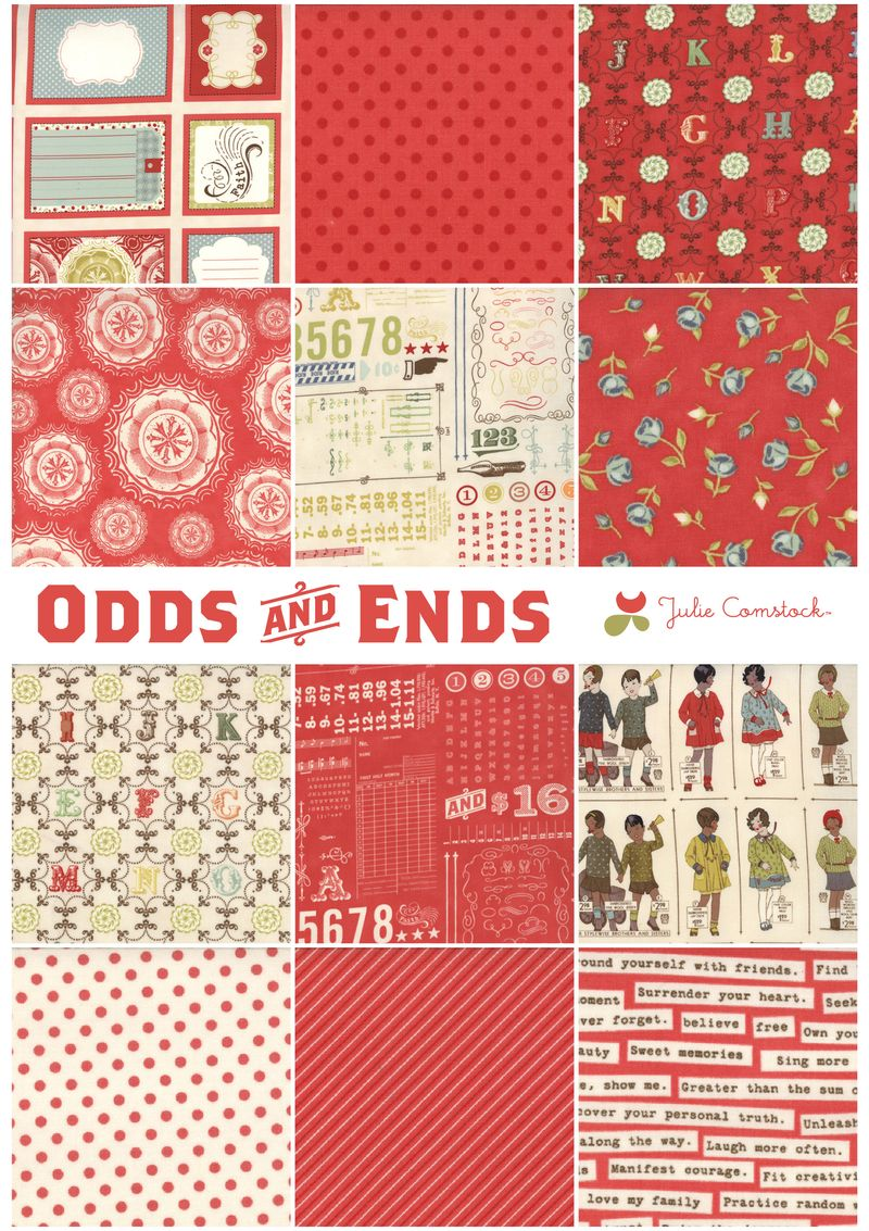 Odds and ends fabric_cosmo cricket_julie comstock3