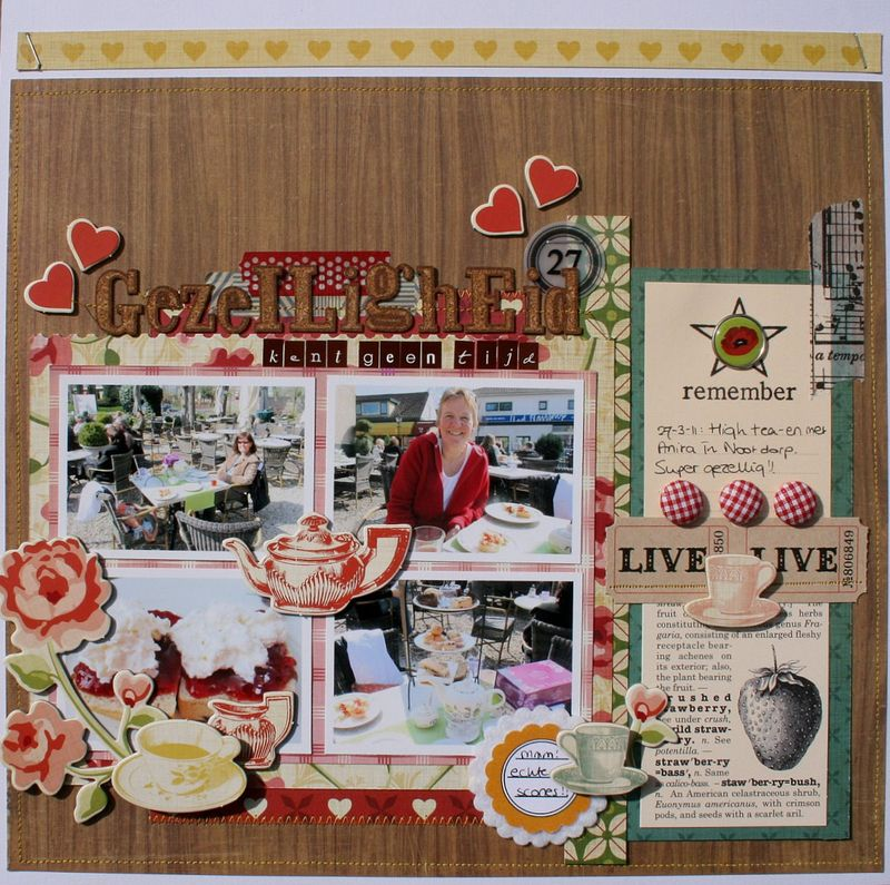 Tea for two layout cosmocricket.monique liedtke