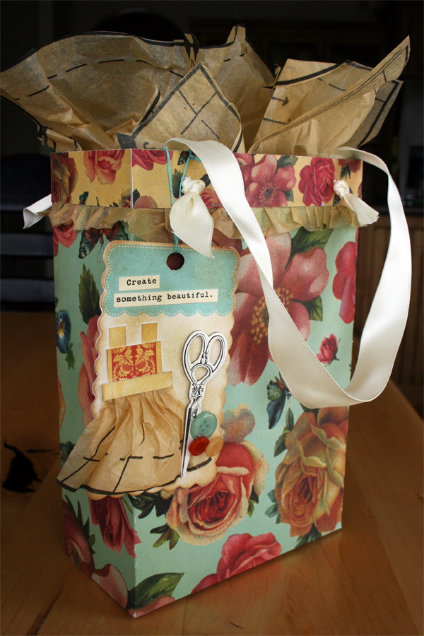 Pretty DIY gift bag