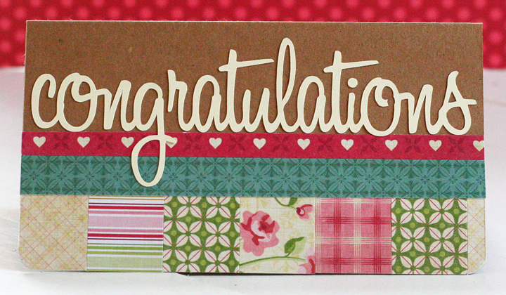 Congratulations card_tea for two_cosmo cricket