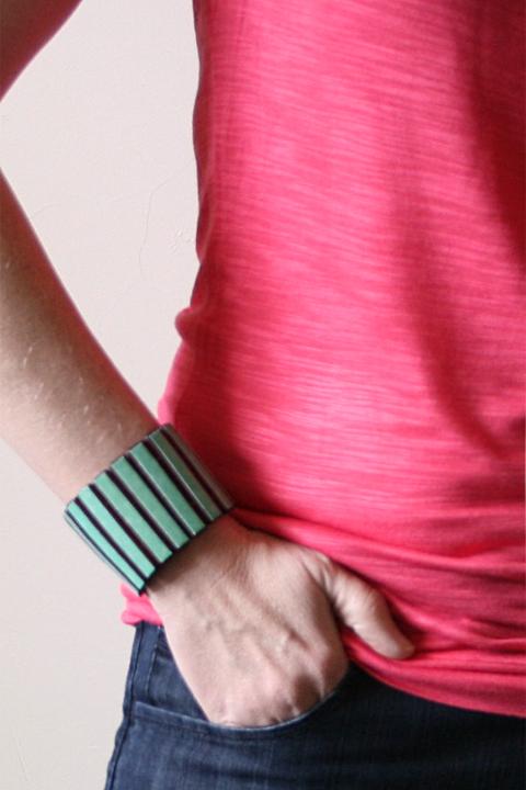 DIY bamboo bracelet