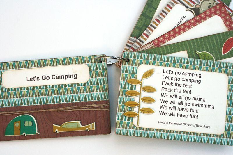 Cosmo Cricket Camping Songs Album_Smore Love Collection_5