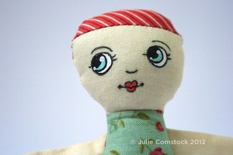 Lucille Doll_Julie Comstock_Odds and Ends fabric
