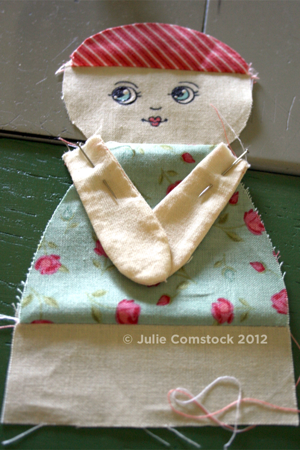 Doll tutorial by Julie Comstock2