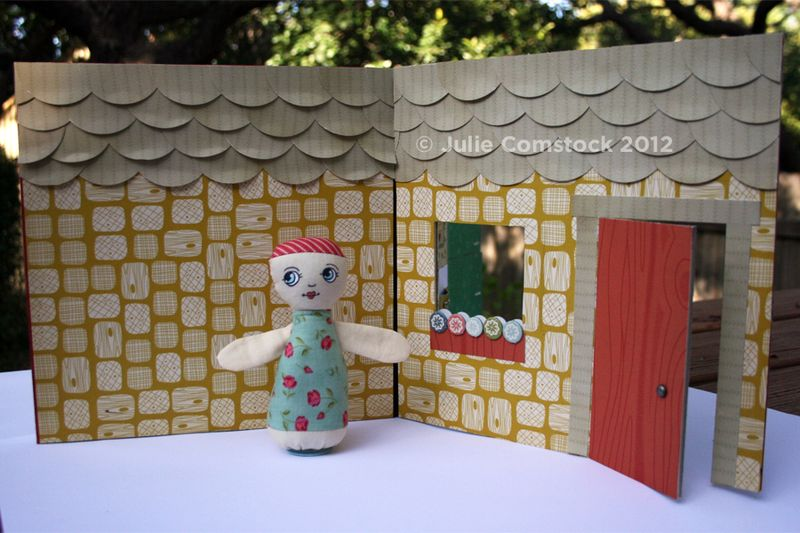 Game Board to Doll House_Exterior_Cosmo Cricket & Julie Comstock